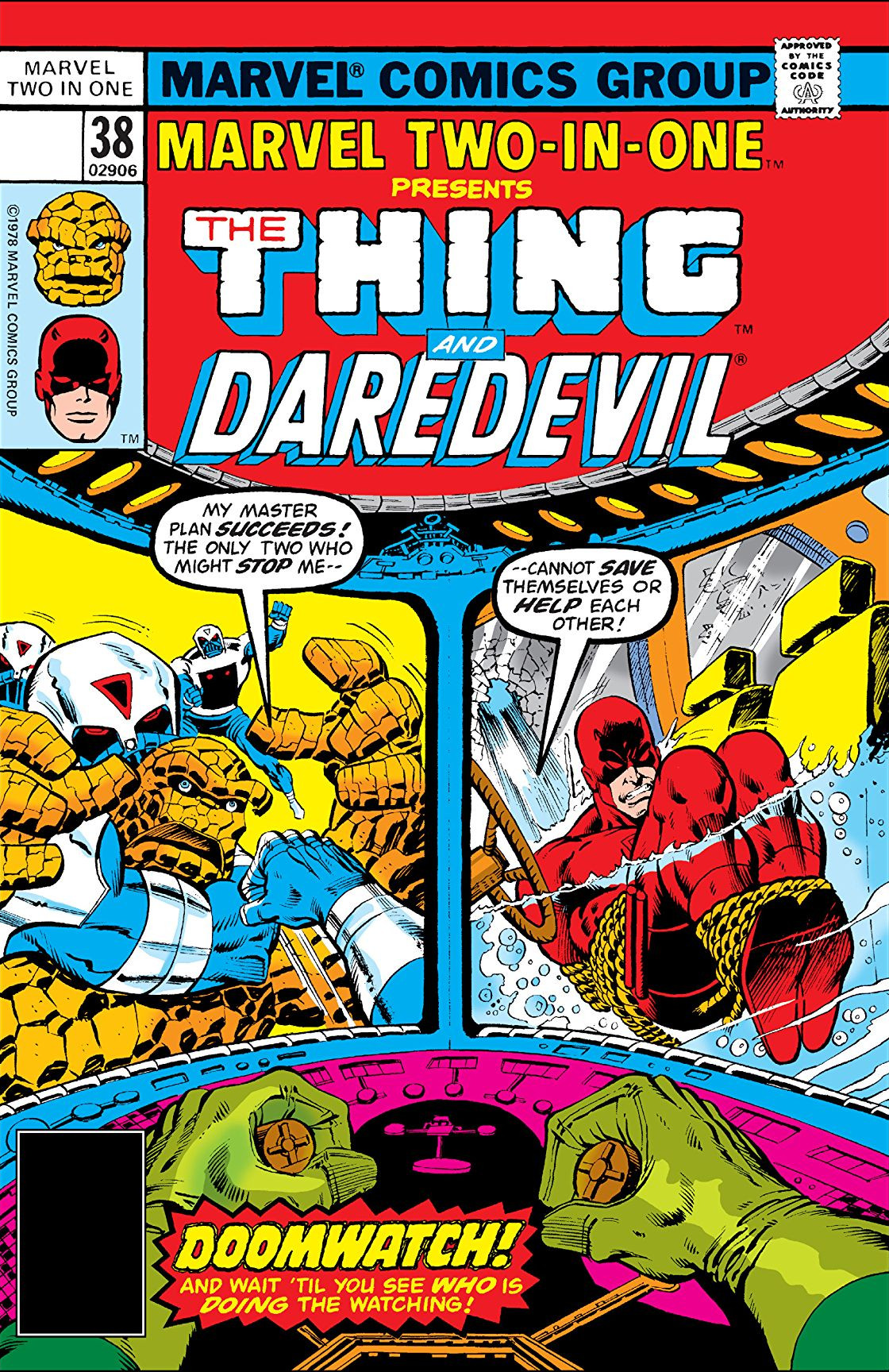 Marvel Two-In-One Vol 1 38
