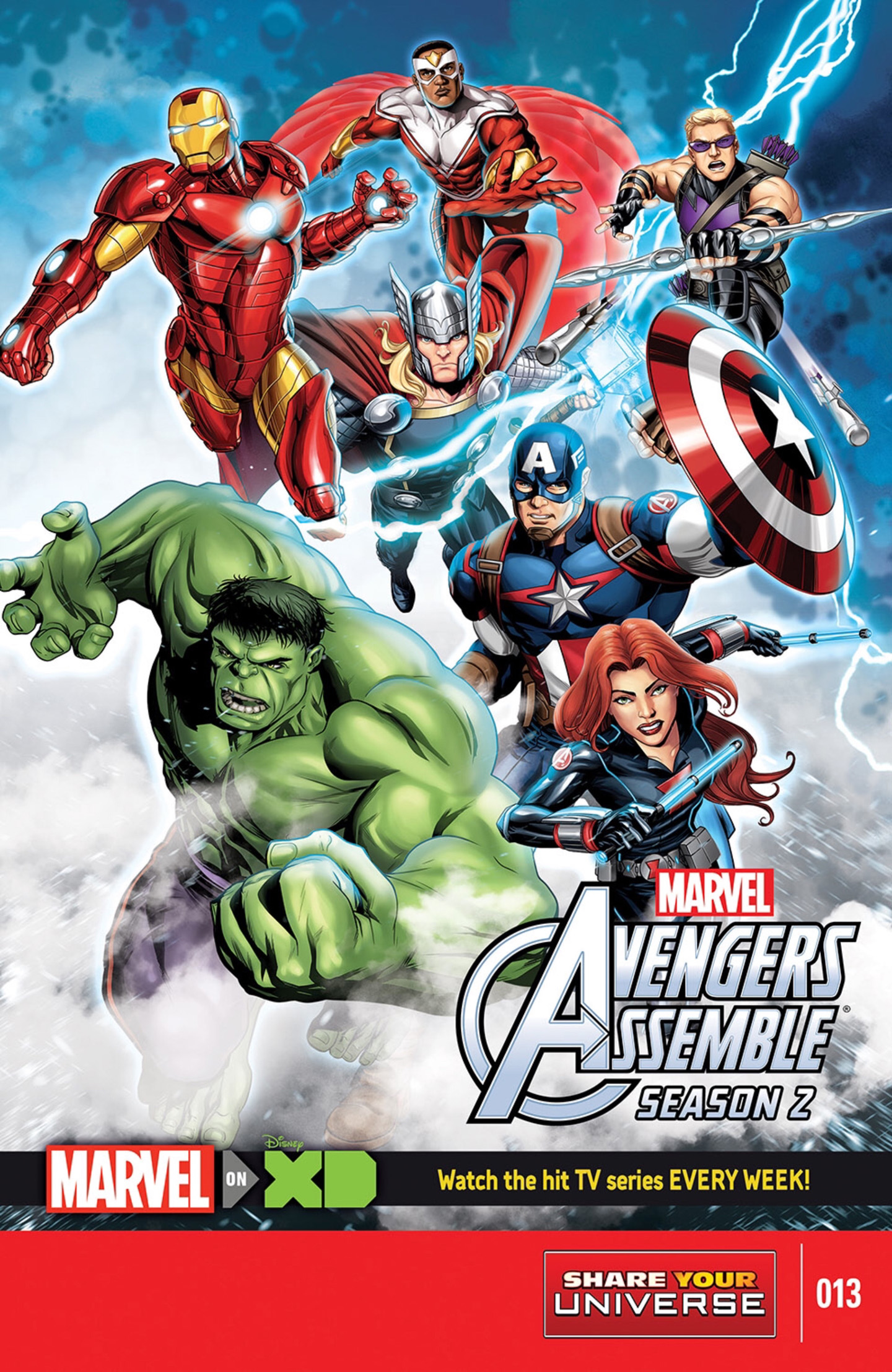 Marvel Universe Avengers Assemble Season Two Vol 1 13