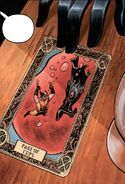 Page of Cups Tarot Card from Wolverine Vol 7 7 001
