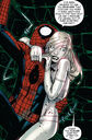 Peter Parker (Earth-616) and Emma Frost (Earth-616) from X-Men Vol 3 10 001