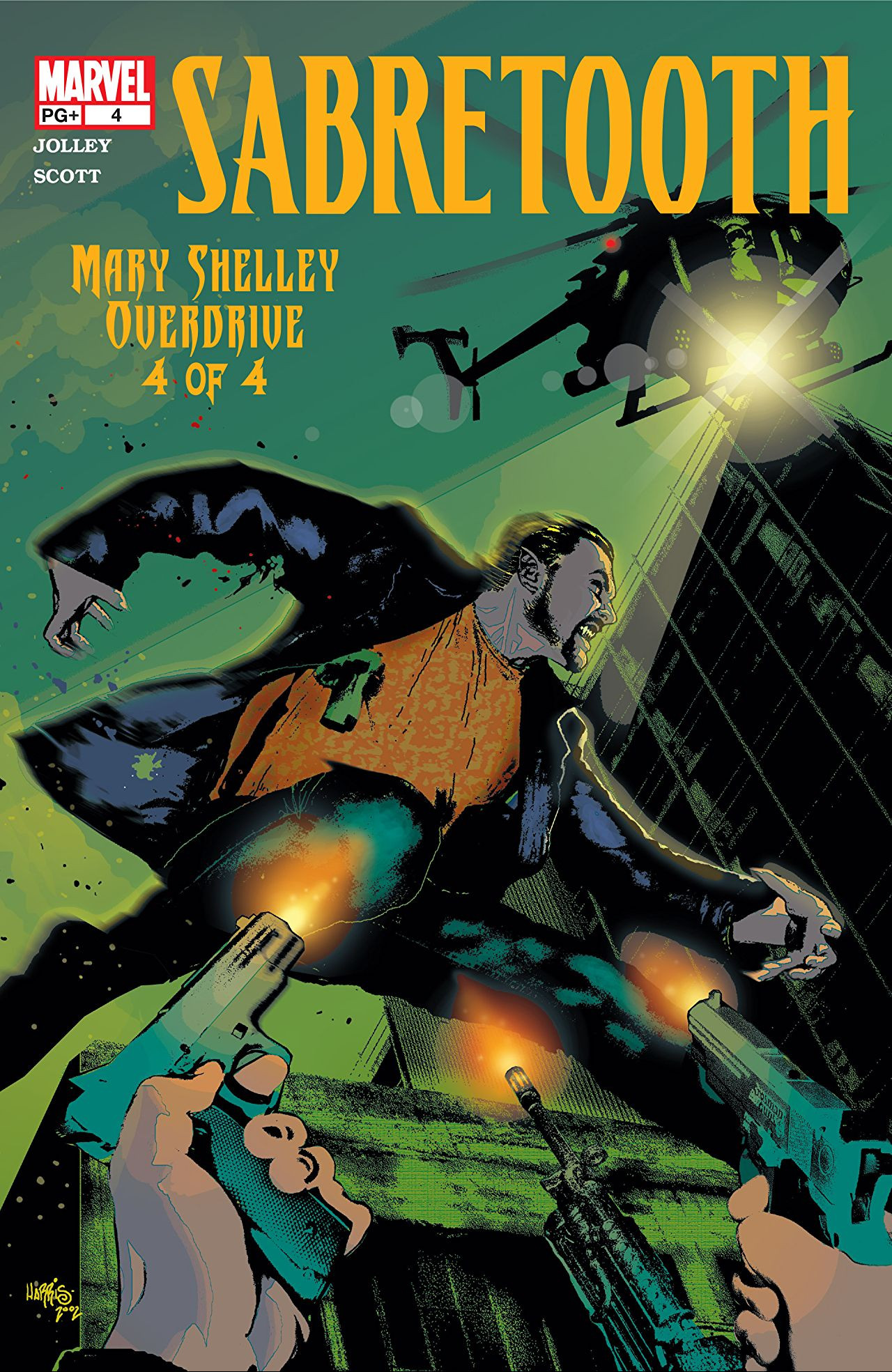 Sabretooth: Mary Shelley Overdrive Vol 1 4