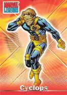 Scott Summers (Earth-616) from Marvel Legends (Trading Cards) 0001