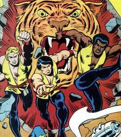 Sons of the Tiger (Earth-616) from Marvel Team-Up Vol 1 40 0001.jpg