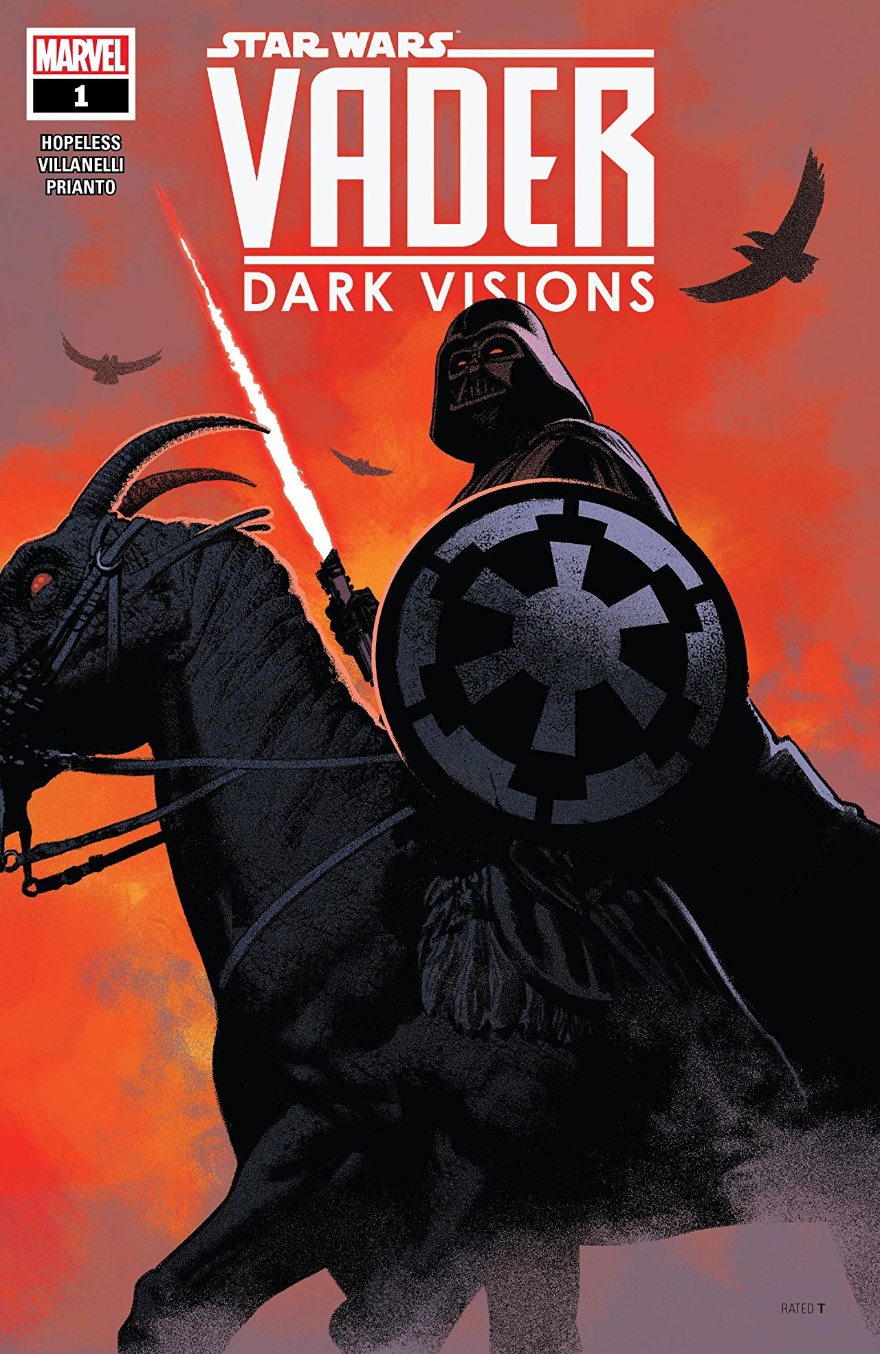 Star Wars: Vader - Dark Visions Vol 1 1