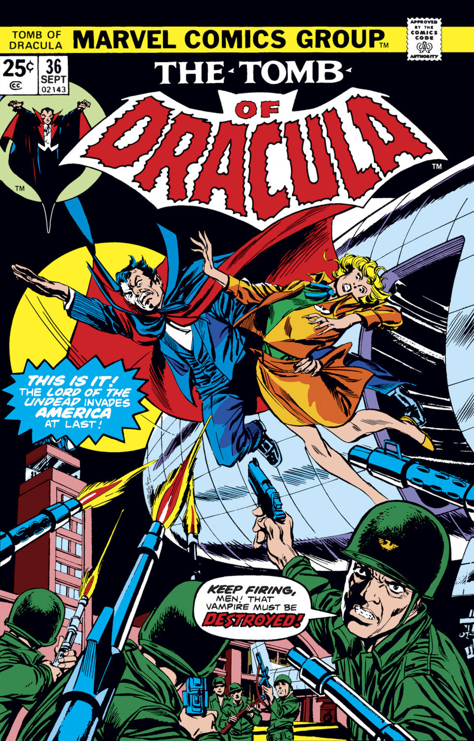 Tomb of Dracula Vol 1 36
