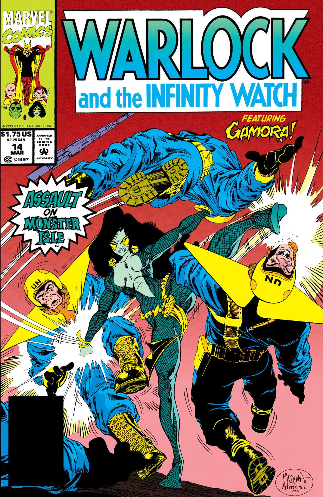 Warlock and the Infinity Watch Vol 1 14