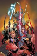 X of Swords Creation Vol 1 1 Launch Variant Textless
