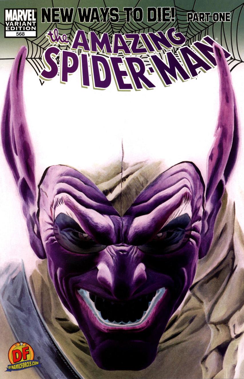 Amazing Spider-Man Vol 1 568 Dynamic Forces Variant.jpg