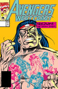 Avengers West Coast Vol 1 72