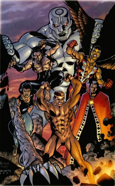 Black Champions (Earth-22025)