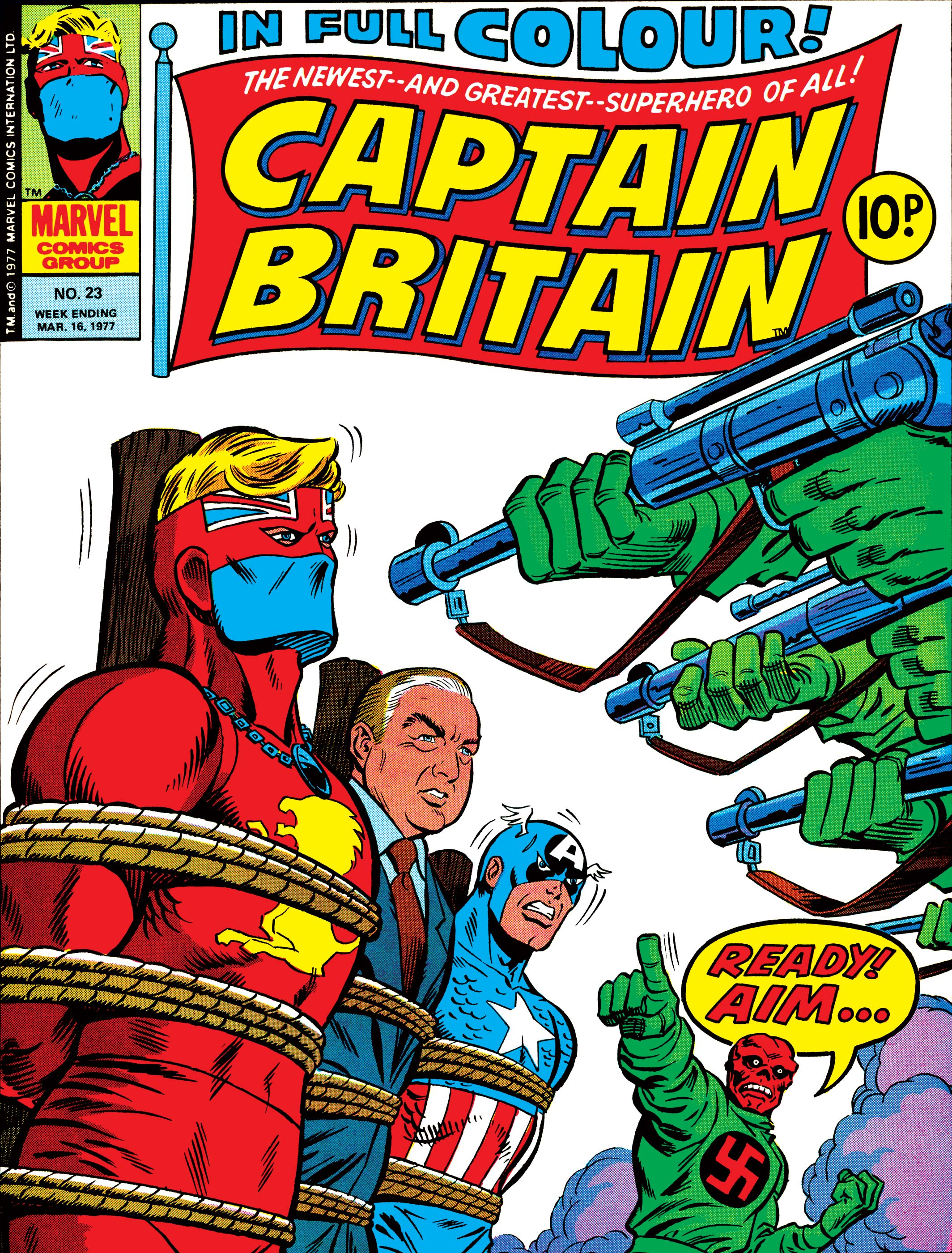 Captain Britain Vol 1 23