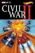 Civil War II Vol 1 1 Hot Wheels Variant Textless