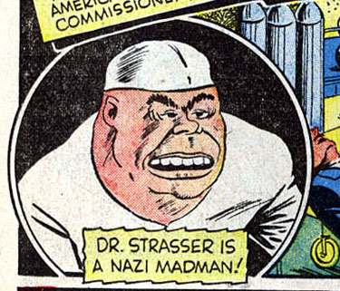Doctor Strasser (Earth-616)