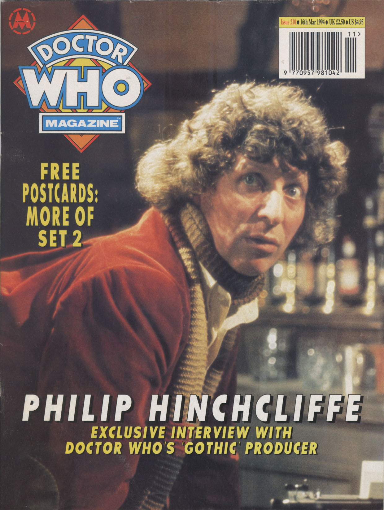 Doctor Who Magazine Vol 1 210