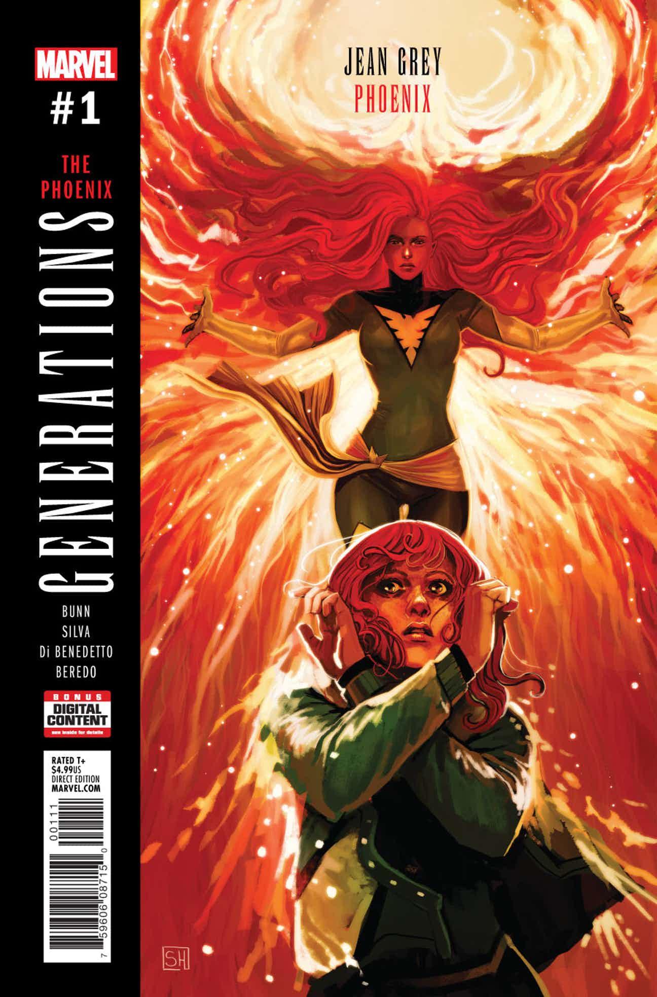 Generations: Phoenix & Jean Grey Vol 1 1