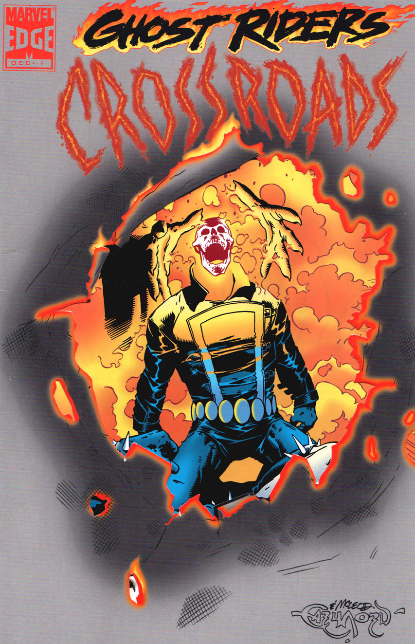 Ghost Rider: Crossroads Vol 1 1