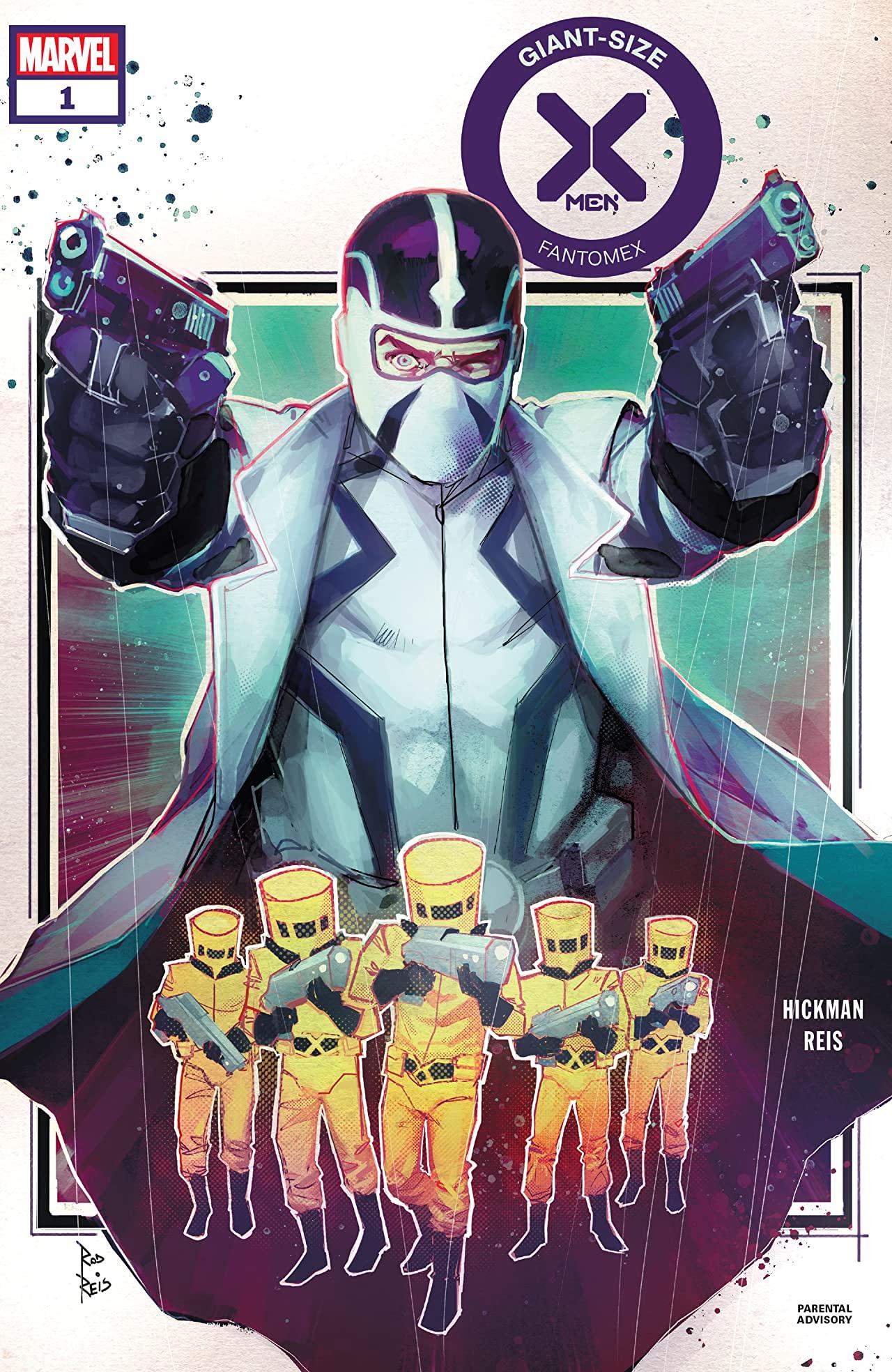 Giant-Size X-Men: Fantomex Vol 1 1