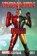 Iron Man Fatal Frontier Infinite Comic Vol 1 1
