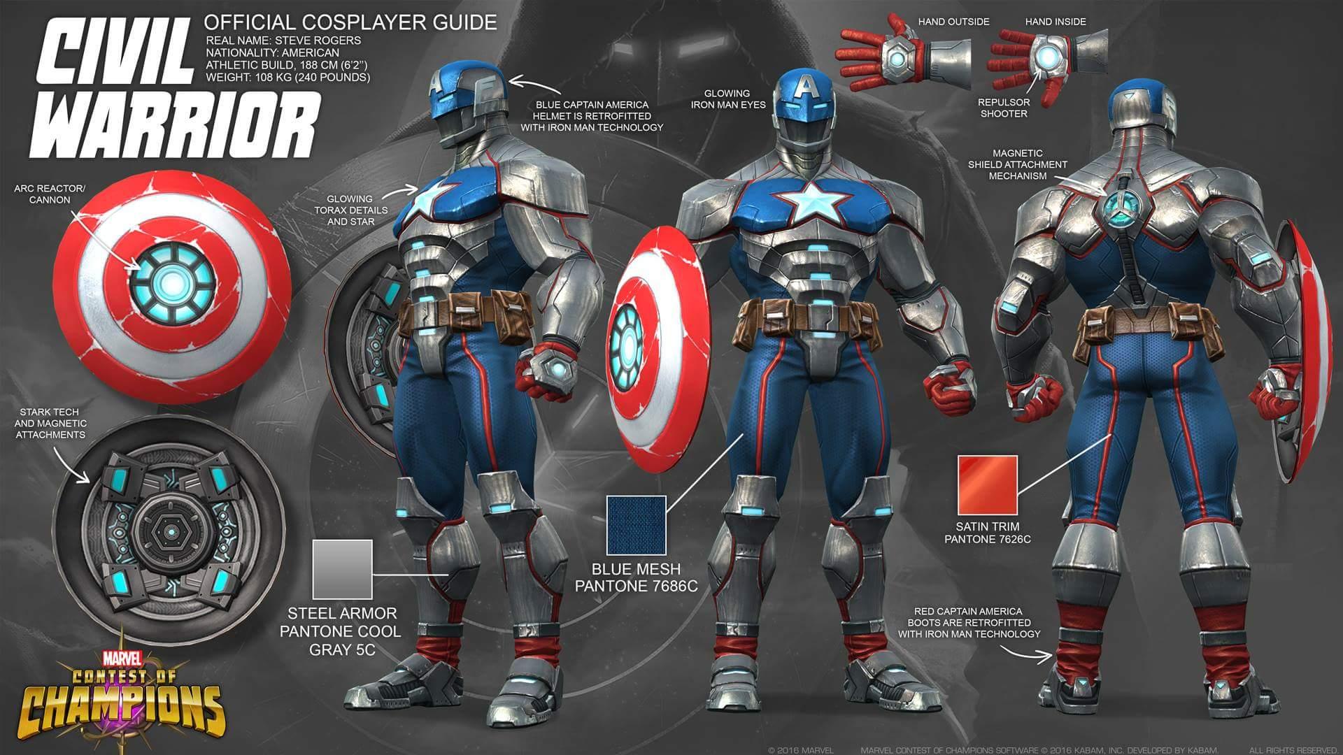Civil Warrior Armor/Gallery