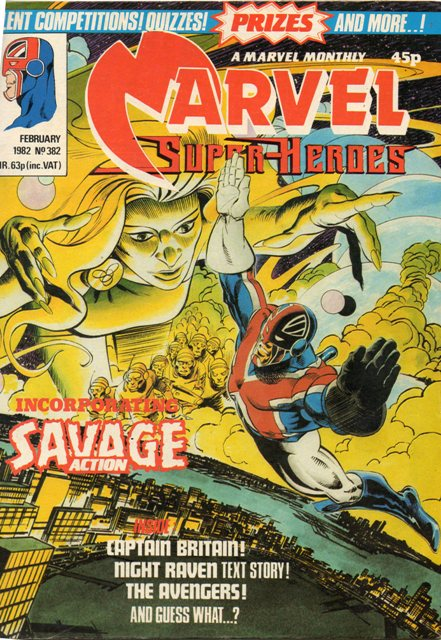 Marvel Super-Heroes (UK) Vol 1 382