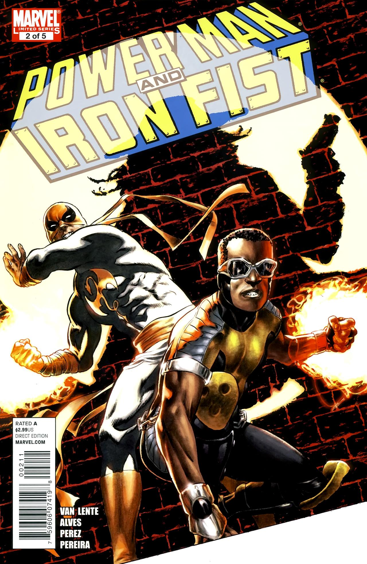 Power Man and Iron Fist Vol 2 2