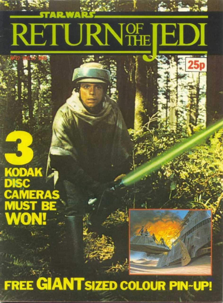 Return of the Jedi Weekly (UK) Vol 1 27