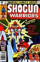 Shogun Warriors Vol 1 4