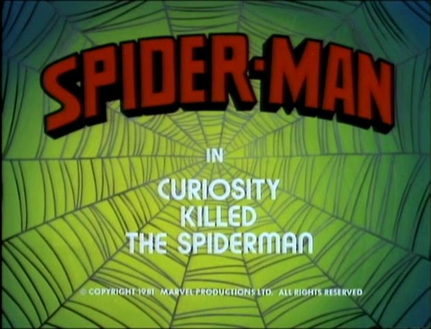 Spider-Man (1981 animated series) Season 1 4