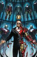Tony Stark Iron Man Vol 1 1 Granov Variant Textless