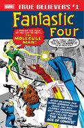 True Believers Fantastic Four - Molecule Man Vol 1 1