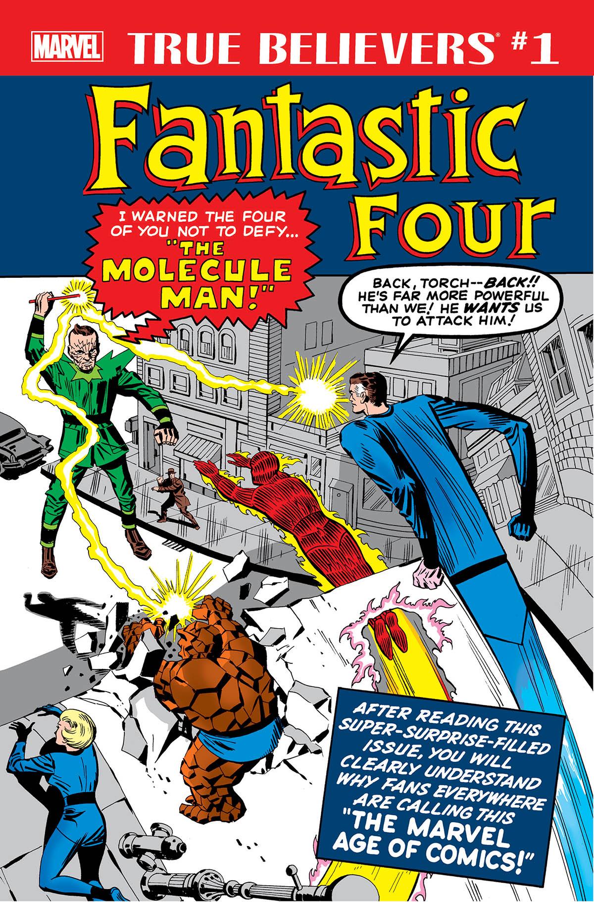 True Believers: Fantastic Four - Molecule Man Vol 1 1