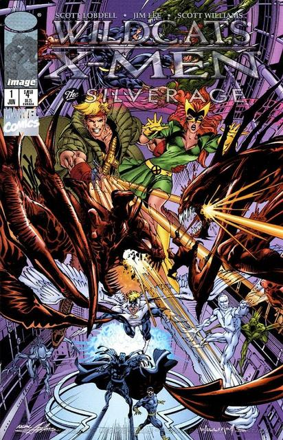 WildC.A.T.s/X-Men Vol 1 The Silver Age