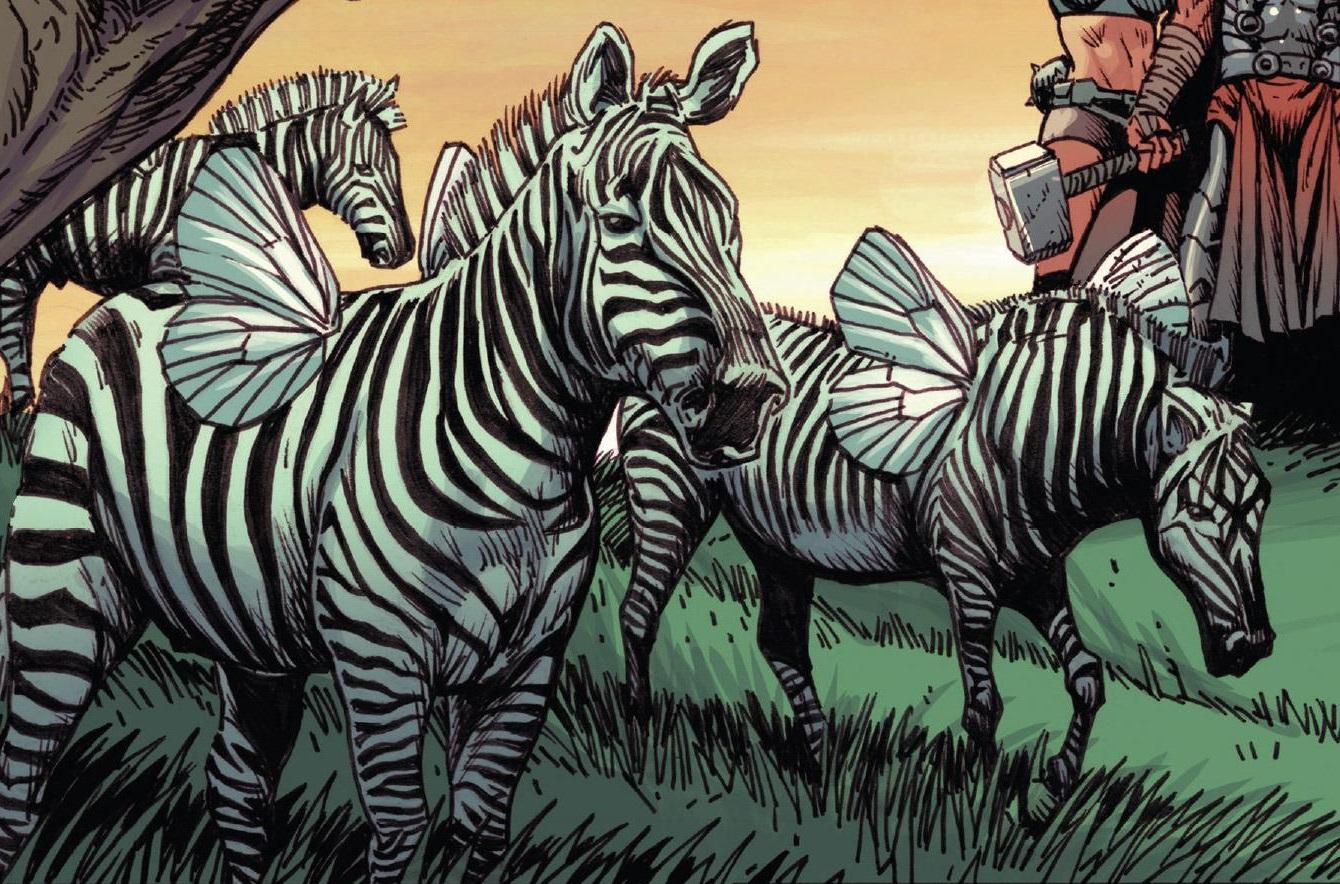 Winged Zebras