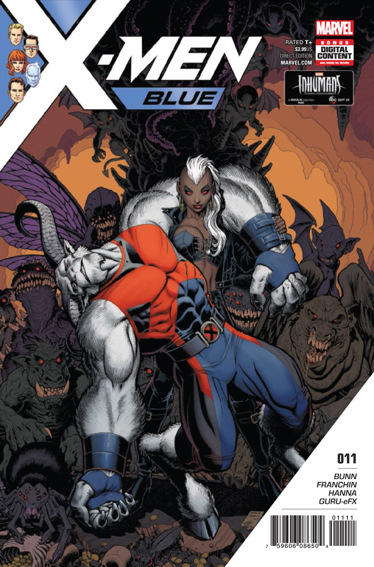 X-Men: Blue Vol 1 11