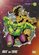 Bruce Banner and Benjamin Grimm (Earth-616) from Marvel Universe Cards Series III 0001