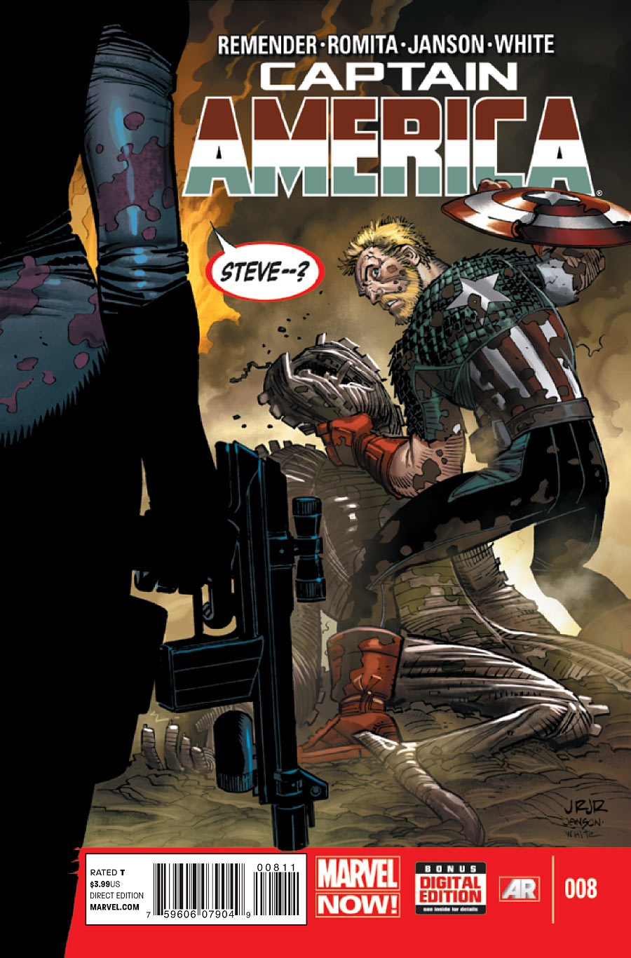 Captain America Vol 7 8