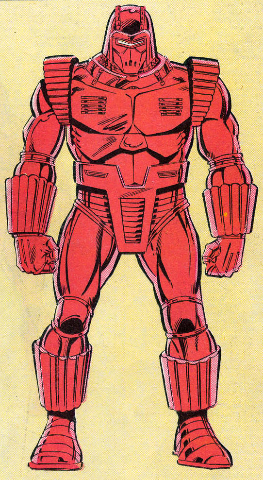Crimson Dynamo Armor Mark IV