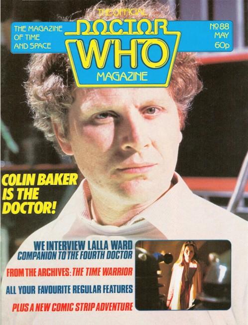 Doctor Who Magazine Vol 1 88