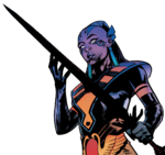 Genesis (Earth-616) with Twilight Blade (Amenth) from X-Men Vol 5 14 001.png