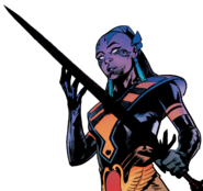 Genesis (Earth-616) with Twilight Blade (Amenth) from X-Men Vol 5 14 001