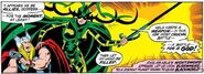 Hela (Earth-616) with Nightsword from Thor Vol 1 199 001