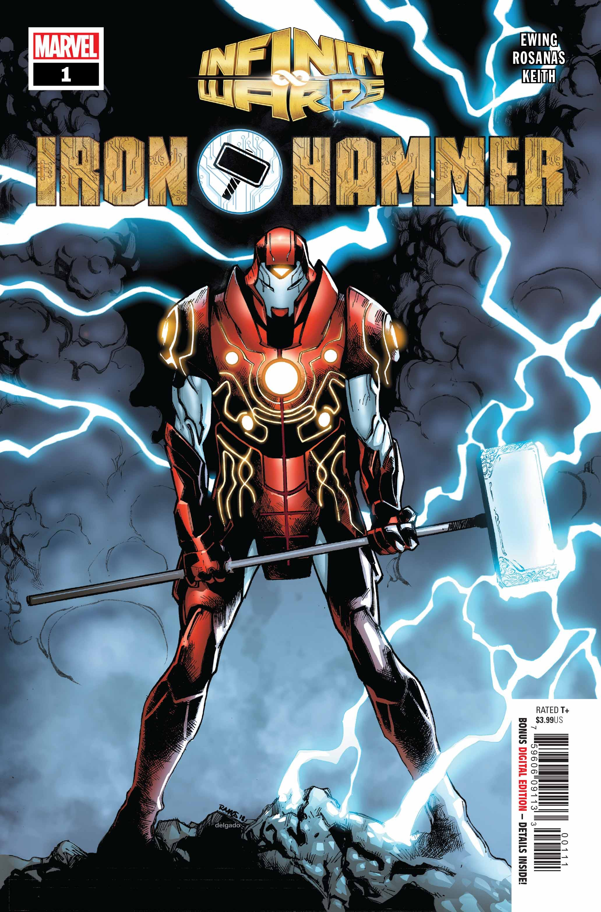 Infinity Wars: Iron Hammer Vol 1 1