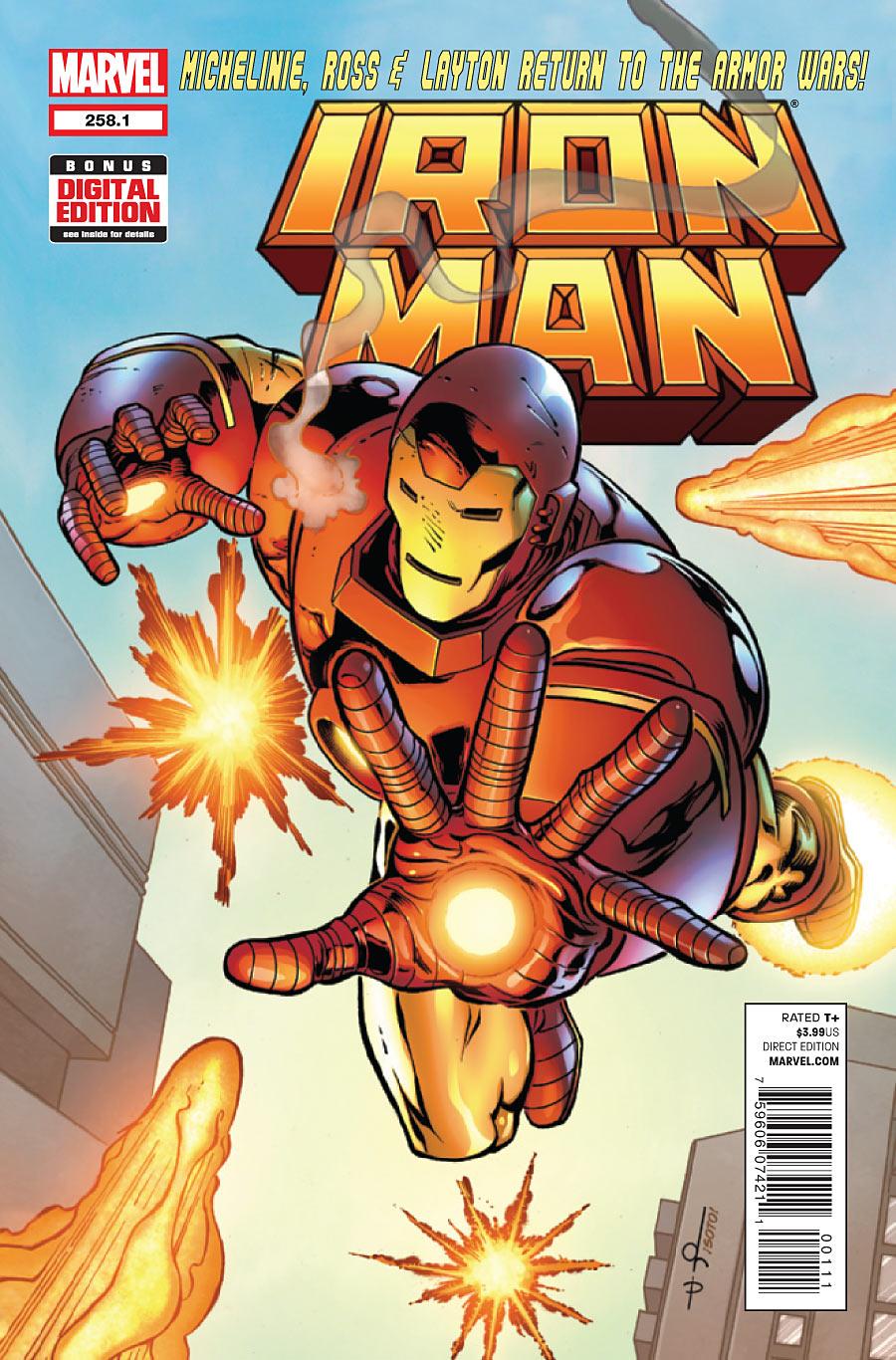 Iron Man Vol 1 258.1