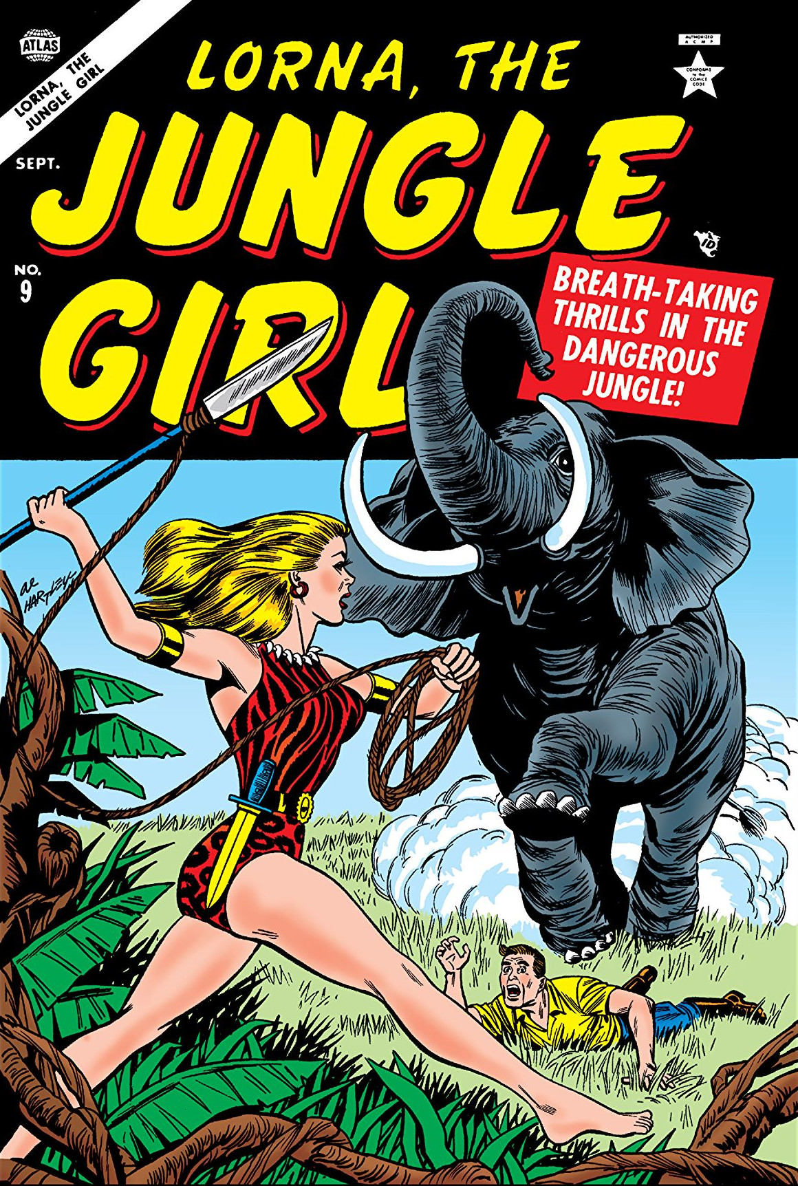 Lorna, the Jungle Girl Vol 1 9