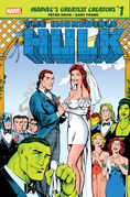 Marvel's Greatest Creators Hulk - The Wedding of Rick Jones Vol 1 1