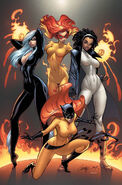 Marvel Divas Vol 1 1 Textless