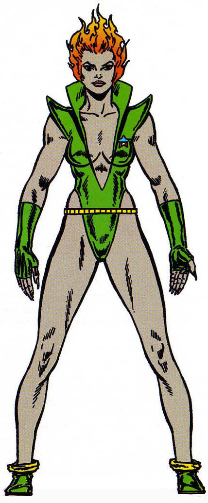 Nicholette Gold (Earth-691) from Official Handbook of the Marvel Universe Master Edition Vol 1 4 0001.jpg