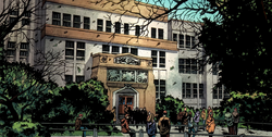 State University (Hegeman) from Fantastic Four Vol 1 581 001.png