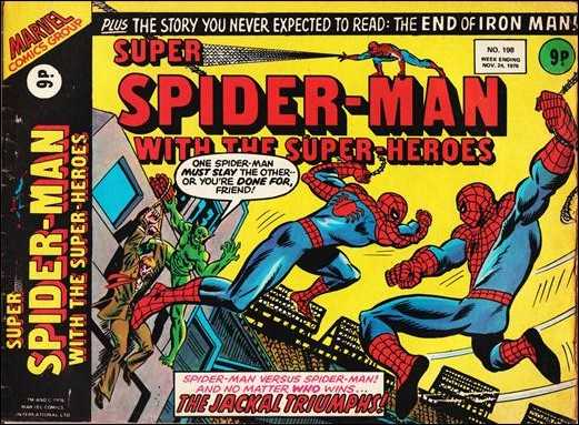 Super Spider-Man with the Super-Heroes Vol 1 198