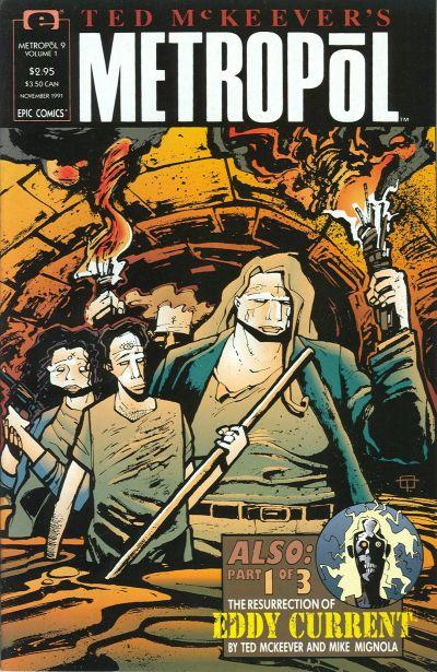 Ted McKeever's Metropol Vol 1 9